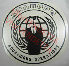 ANONOPS ANONYMOUS OPERATIONS Vinyl Decal Car Window wall Sticker