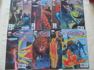 Fantastic-Four-issues-498-508-Waid-Wieringo-Porter-Marvel-comics