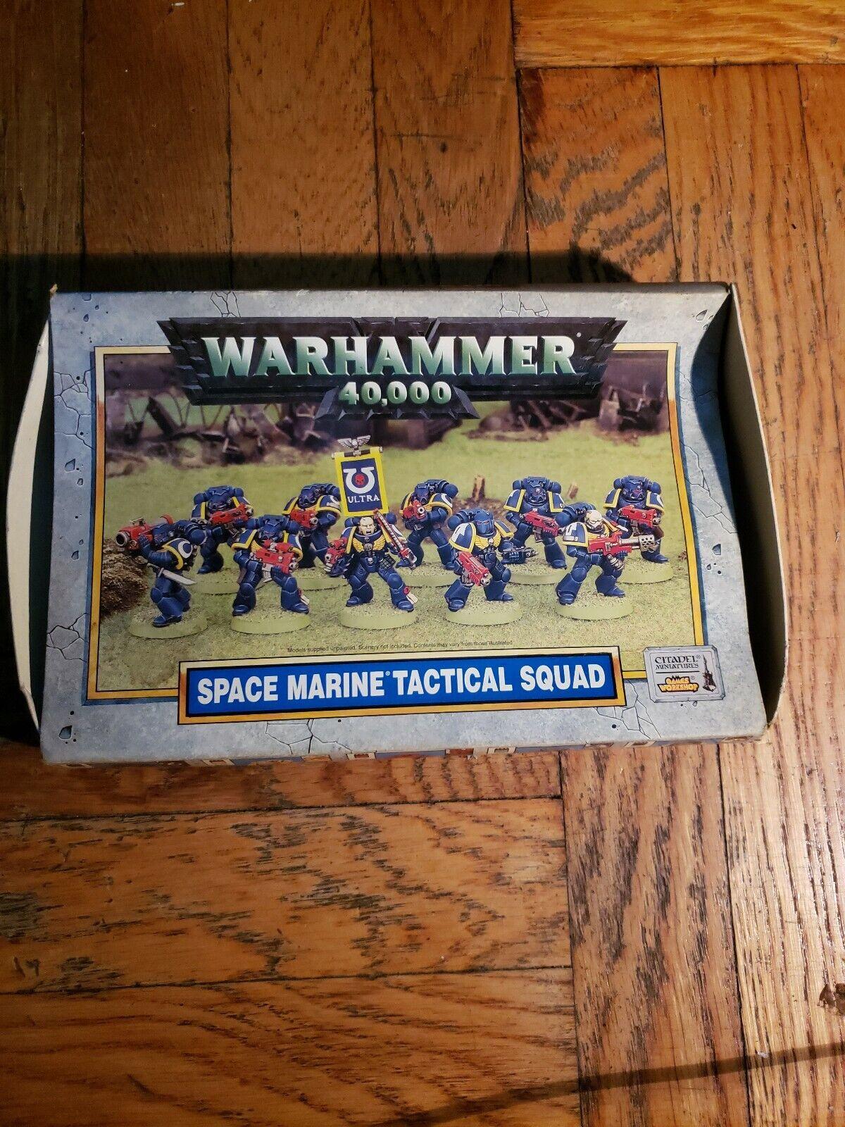 Warhammer 40K spazio Marine Tactical Squad   costo effettivo