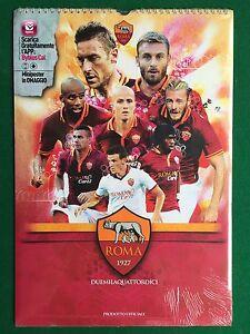 As Roma Calendario.Dettagli Su As Roma Calcio Calendario Calendar 2014 Nuovo Sigillato Sealed Totti De Rossi