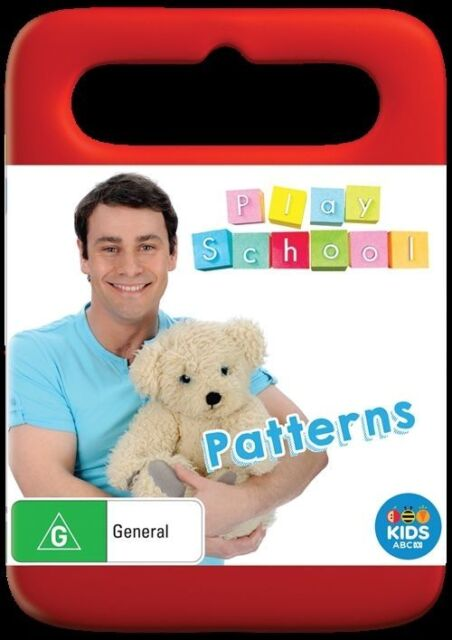 Play School - Patterns - Region 4 NEW & SEALED *FREE POST*