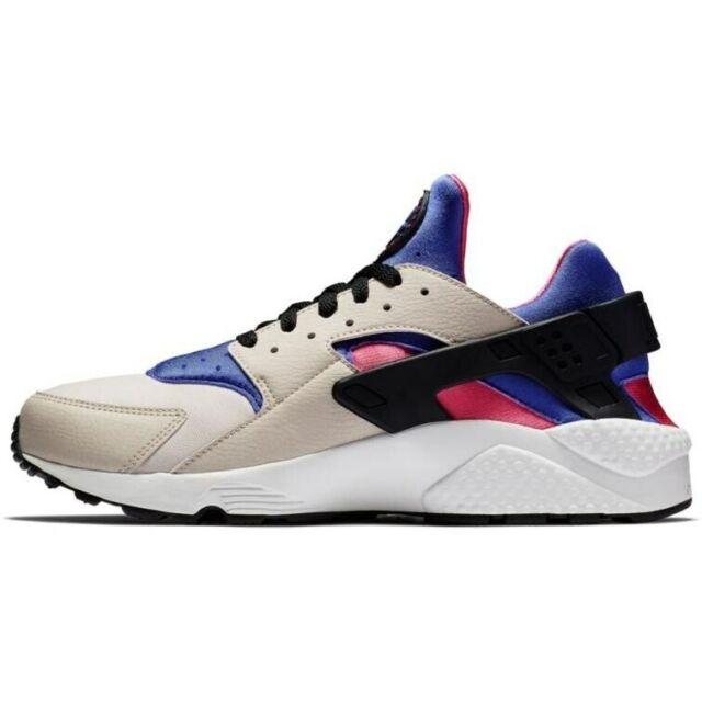 Mens Nike Air Huarache 318429-056 Desert Sand/persian Violet Size 10