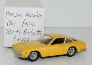 PRECISION-MINIATURES-1-43-WHITE-METAL-1964-FERRARI-250-GT-BERLINETTA-LUSSO