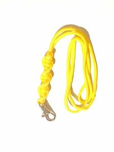 Barley-Twist-Design-Dog-Whistle-Lanyard-In-Yellow-For-ACME-Whistle