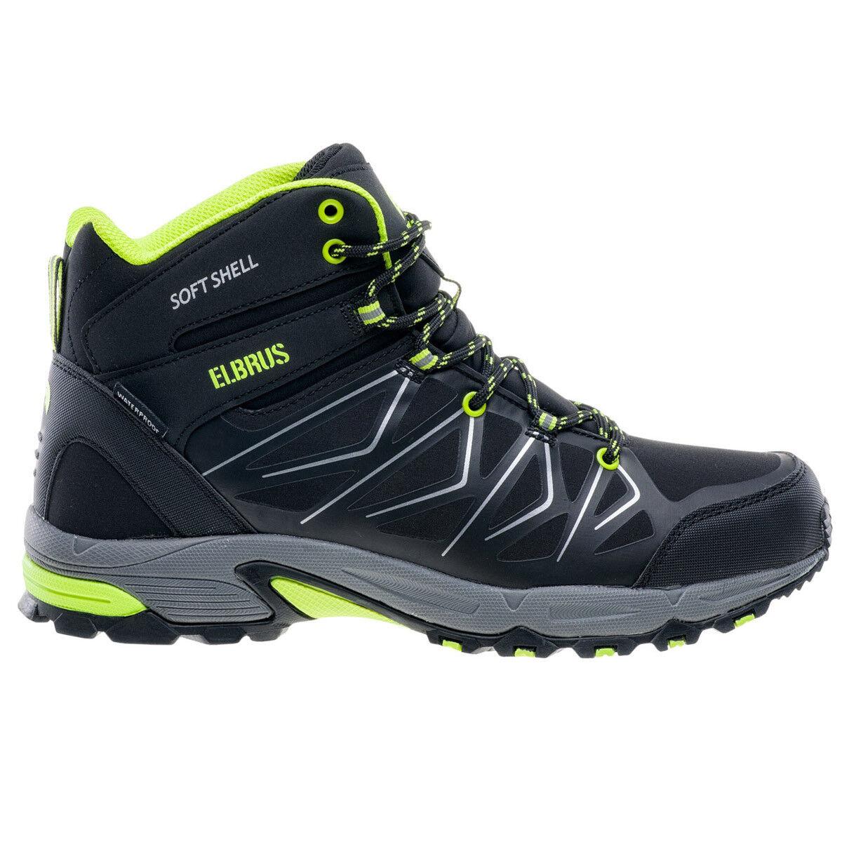 Elbrus Herren Gabby Mid WP Softshell Schuhe Herren Elbrus Wanderschuhe Trekking Outdoor NEU 9decfa