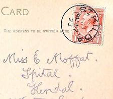 MS2903* 1923 GB Scots Islands Superb *ST.KILDA* CDS Harris Postcard Kendal RARE