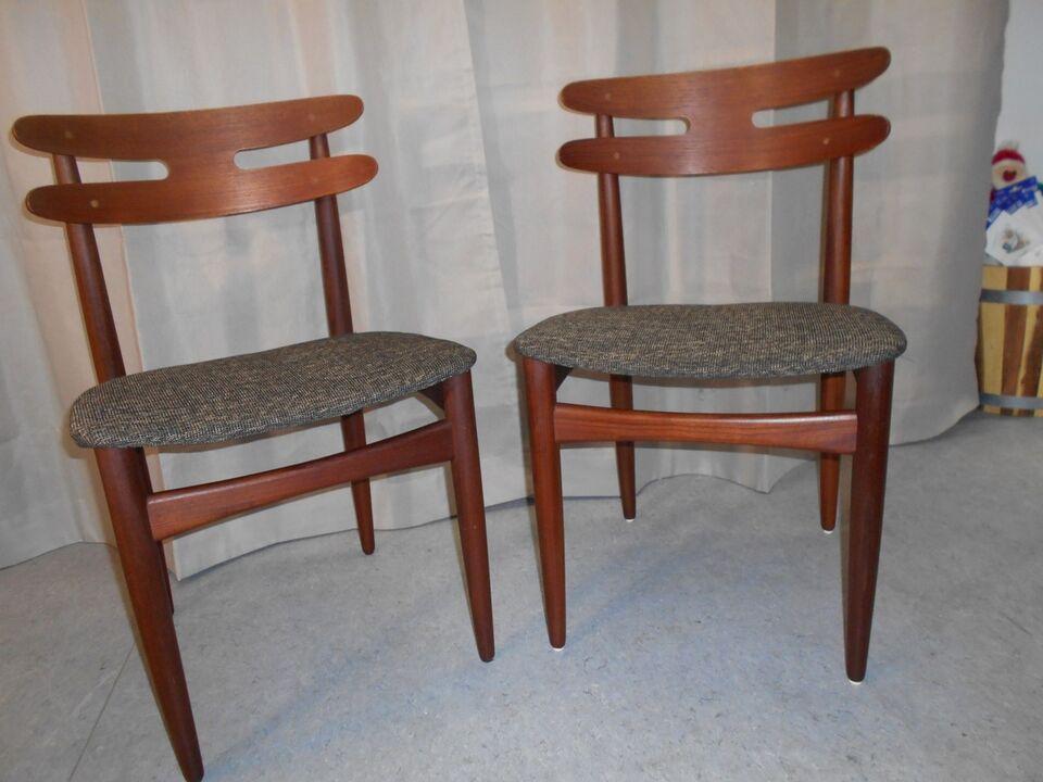 Spisebordsstol, teaktræ, Johannes Andersen