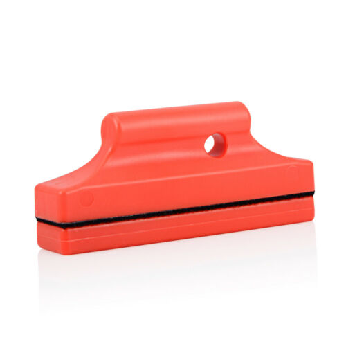 2 x Car Wrapping Magnethalter Magneten Kratzerfrei mit Stoff Filzkante Rot Neu