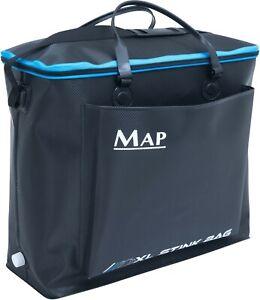 MAP-XX-Large-Fishing-EVA-Hard-Type-Stink-Bag-Landing-Net-Keepnet-or-Bait-Bag