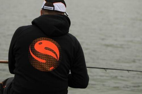 Fischen Kleidung Guru Kapuze Schwarz