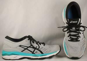 Details about Women's ASICS Gel-Kayano 24 Dove Gray/Aqua Running Shoes US  9.5 EUR 41.5