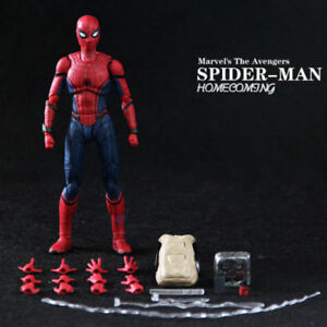 Action-Figure-SHF-S-H-Figuarts-Marvel-Spider-Man-Homecoming-Spiderman-Hero-Toy