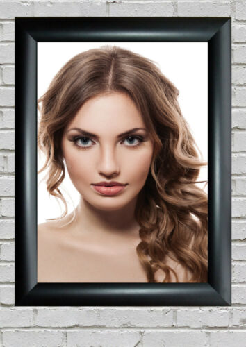FRAMES AVAILABLE FEMALE HAIR DESIGN SALON POSTERS UPTO A0 SIZE HAIR DRESSER
