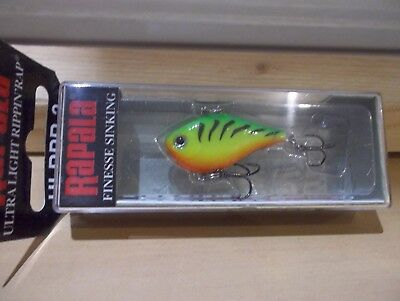Rapala Ultra Light Rippin Rap ULRPR 4 FT Firetiger NIB