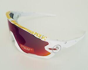 ebf0ee673f La imagen se está cargando Oakley-Jawbreaker-Gafas-de-Sol-Oo9290-2731-Blanco -