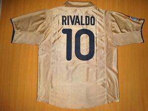 029241262 Image is loading RARE-BARCELONA-10-RIVALDO-SHIRT-camisa-maglia-camiseta-