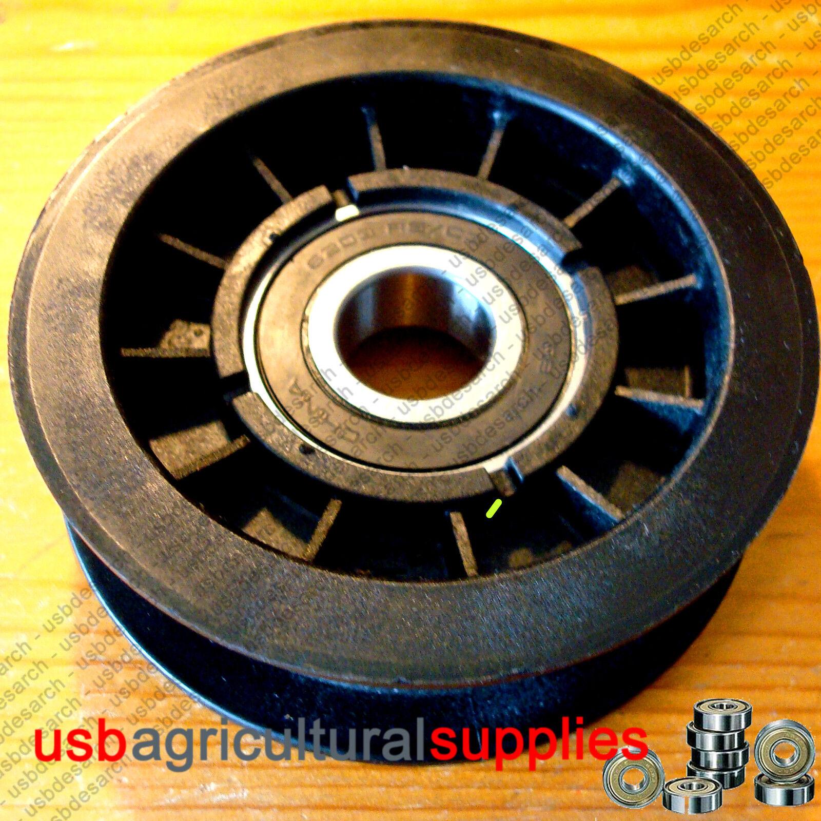 4x Polea   Jockey   Idler Wheel Hayter 690409 John Deere Nexy día del