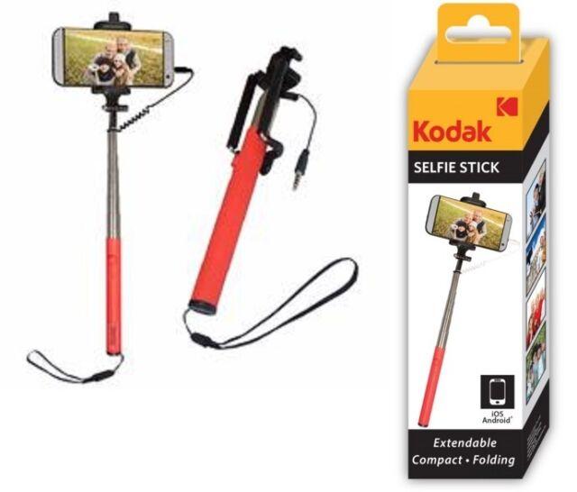 2x Kodak Selfie Stick, Android & Ios Compatible