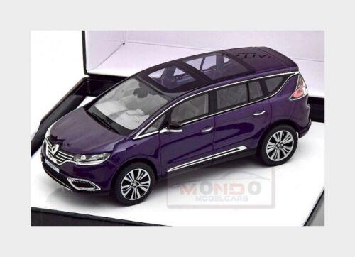 Renault Espace Initiale Paris 2014 Violet Met NOREV 1:43  7711578130 Model