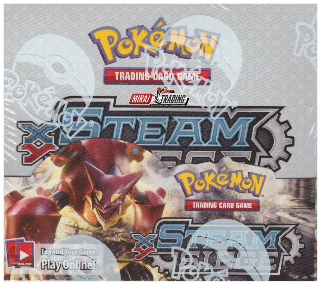 Pokémon TCG  XY Steam Siege Booster F Sealed Box