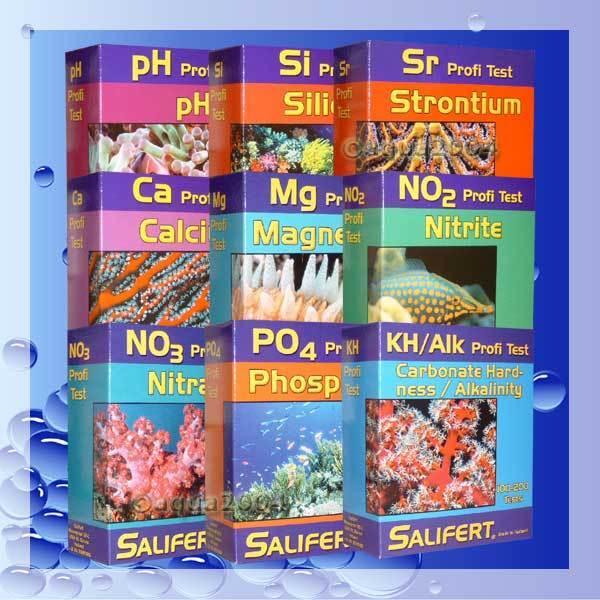 + SALIFERT Bundle no3+po4+ kh+ca+mg+no2+ PH + + + si + SR CANNUCCIA c4a90a