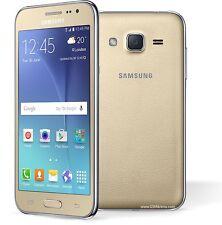 Brand New Samsung Galaxy J2 Dual Sim 8GB Smartphone - GOLD- ANDROID -Genuine 3G