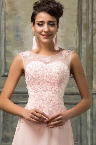 Maxi D'honneur Vintage Robe Soirée Demoiselle De Longue Bal Mariage Habillé zfc4wg8W