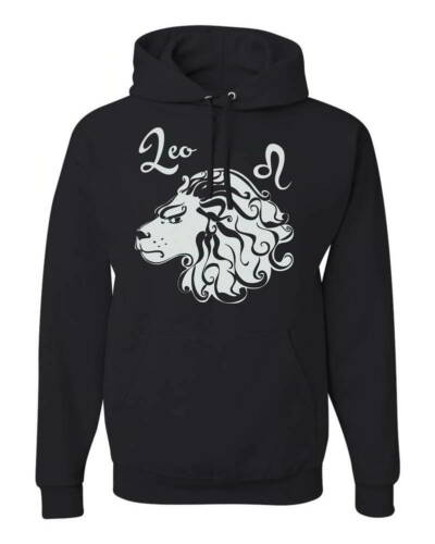 Leo Horoscope Birthday Gifts Zodiac Sign Astrology Graphic Pullover Hoodies