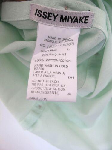 Large Taglia Top Vintage Miyake menta Splendida cotone Issey '90 verde Abito anni HZqwf6