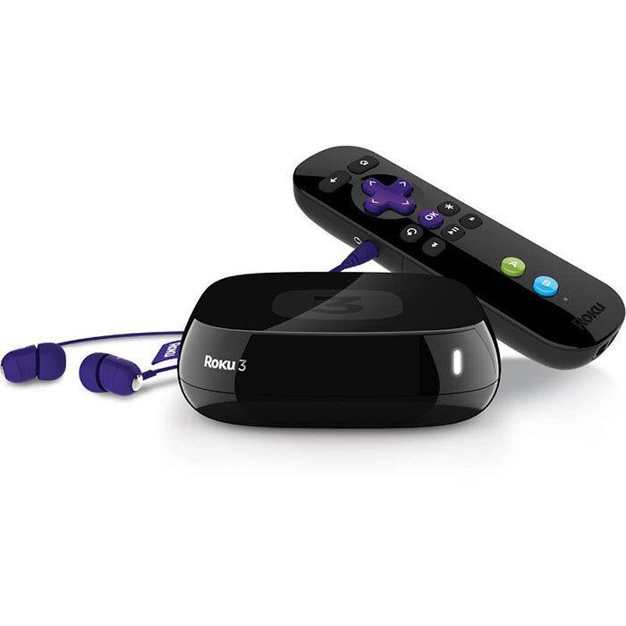 Roku 3 Streaming Media Player 4200 2014 Version media player roku streaming version