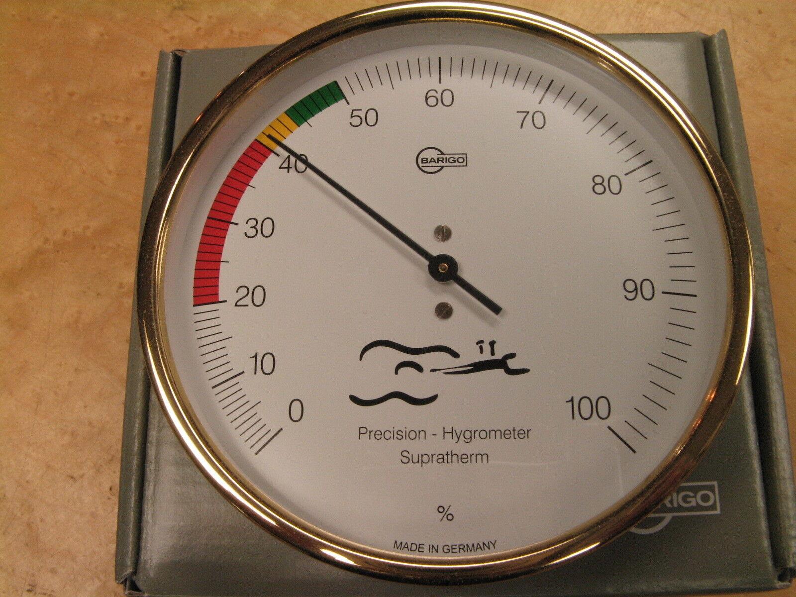 Guitar Hygrometer, wissenschaftlicher Feuchtigkeitsmonitor, von Barigo, Kostenloser Versand