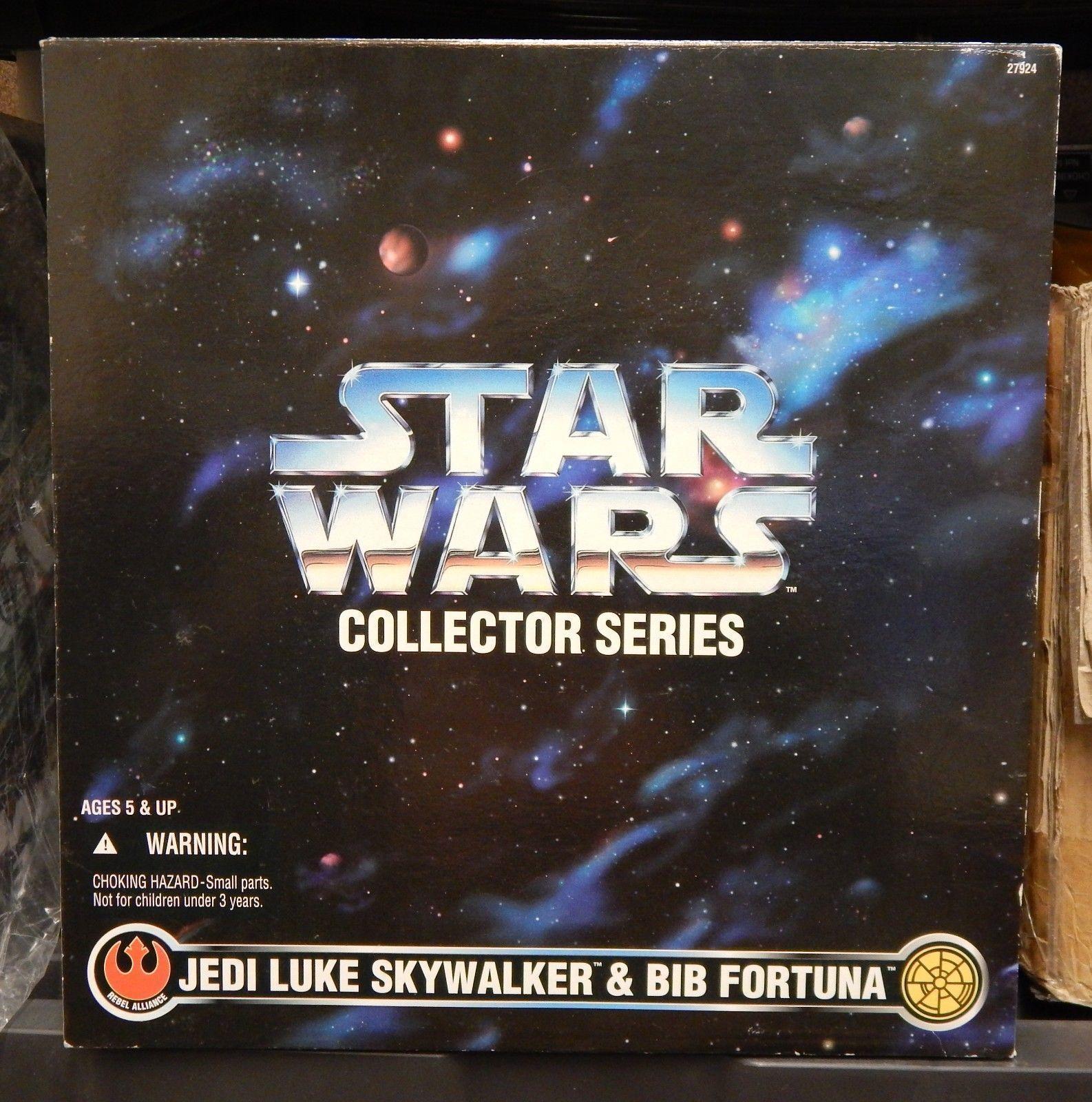 Star Wars Jedi Luke Skywalker & Bib Fortuna 12  Action Figures Kenner 1997 New