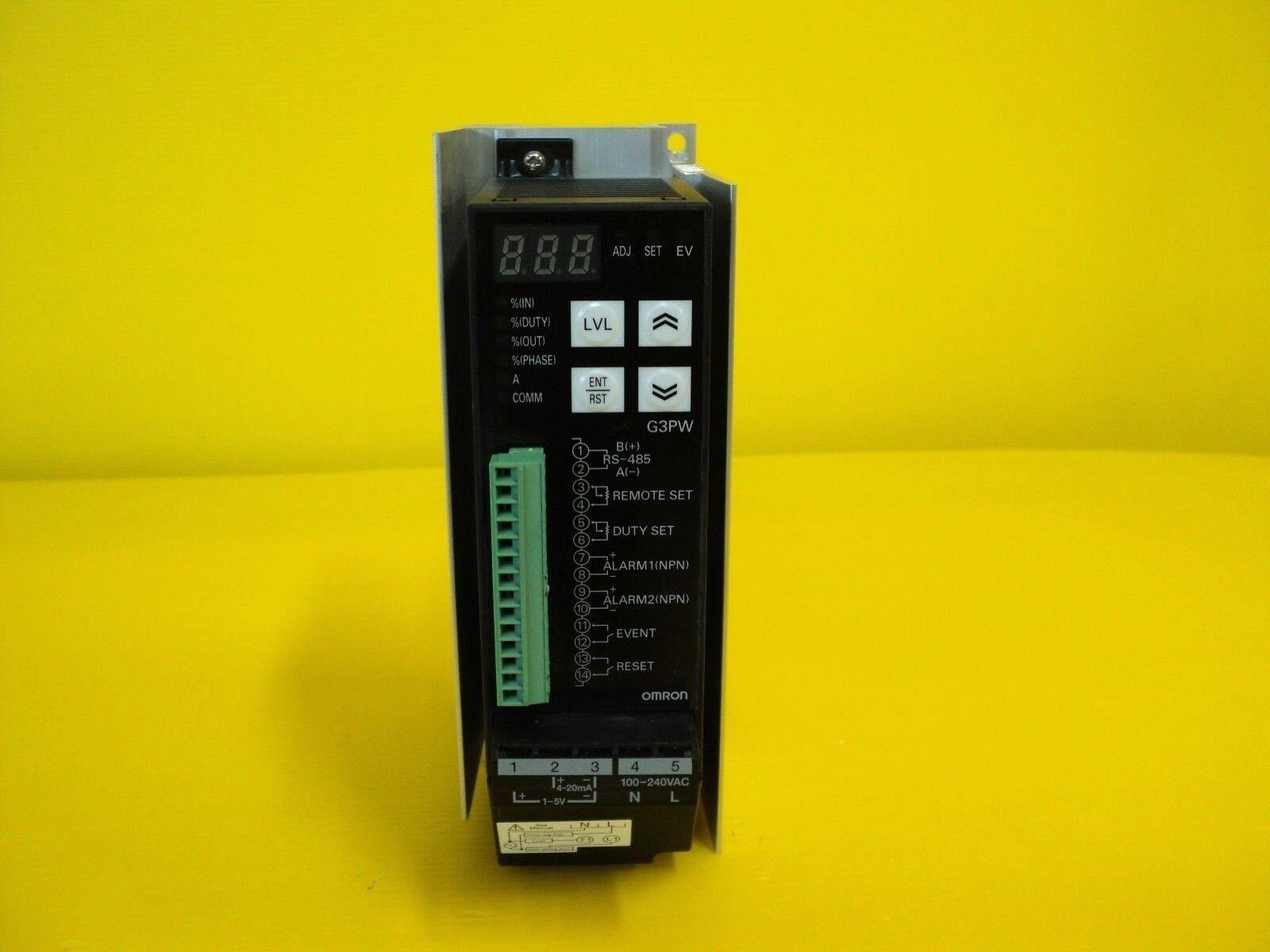 Omron G3PW-A260EC-S-FLK POWER CONTROLLER 60A