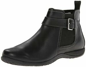 Vionic Adrie Womens Casual Ankle Boot Leather Imported Rubber sole