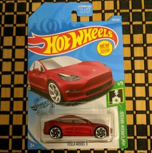 2019 Hot Wheels Hw Green Speed 1 5 Tesla Model 3 Red Contemporary Manufacture Toys Hobbies Japengenharia Com Br