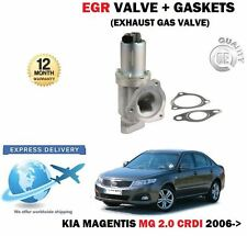 FOR KIA MAGENTIS 2.0 CRDI 2006--  NEW EGR EXHAUST GAS VALVE + GASKETS