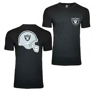 the latest f5fa6 e972b NFL Oakland Raiders Helmet T Shirt Mens Official Team ...