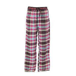 Pantaloni rosa da quadretti del uomo M nero multipli Bjorn pigiama 32 a Nuovo Medio Borg 34 Taglia rIr0Tn