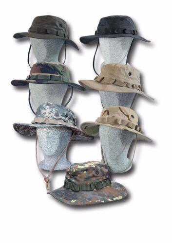 Boonie Hat US Army Tropen Hut  Buschhut Schlapphut in viele Farben und Größen