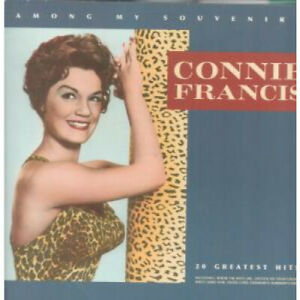 CONNIE-FRANCIS-Among-My-Souvenirs-LP-VINYL-UK-Telstar-20-Track-Star2393-Tiny