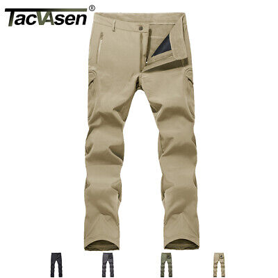 M-Tac Winter Tactical Pants Soft Shell Insulated Fleece Lined Cargo