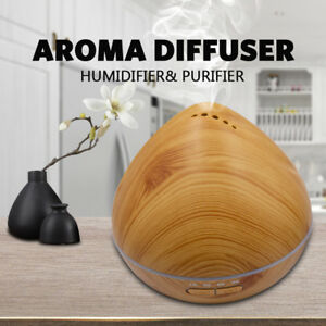 ❤️300 ML Humidifier Purifier Aromatherapy LED Light Aroma Diffuser Oil
