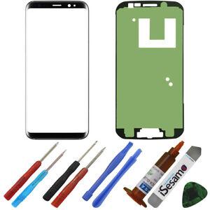Front-Ersatzglas-fuer-Samsung-Galaxy-S8-Plus-Front-Display-Glas-UV-LOCA-KLEBER