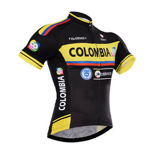 Fashion-Mens-Team-Cycling-Clothing-Bicycle-Short-Sleeve-Jerseys-Polyester-Tops