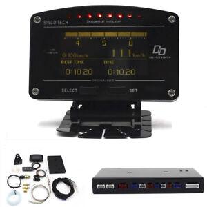 11-in-1-Rally-Motorsport-Race-Car-Dashboard-Display-Gauge-Meter-Full-Sensor-Kits
