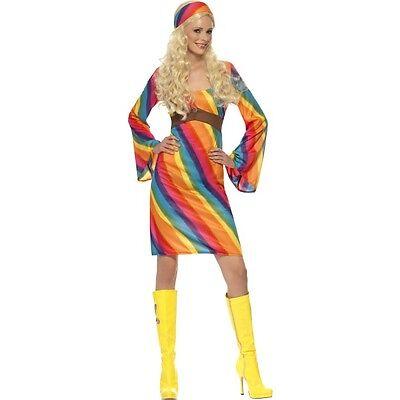 Women/'s 1970/'s Grease Sandy Frenchy Rizzo Fancy Dress Wigs Hen Theme Fun Night