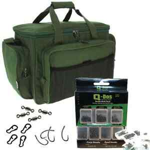 Fishing-carryall-isole-tackle-sac-ngt-holdall-carp-avec-accessoire-tackle-set