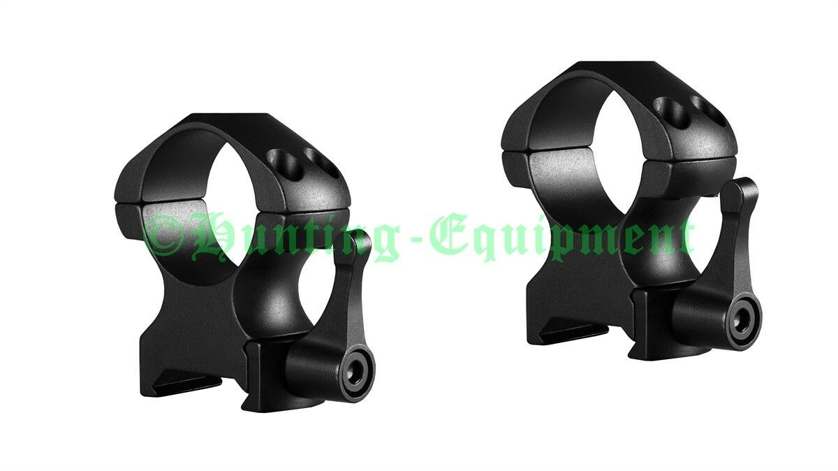 Hawke Precision Steel Ringe 30mm High Weaver Picatinny 23017