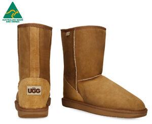 29d5f308b98 Details about Opal UGG Australian Made Tidal 3/4 Sheepskin Boots - Chestnut