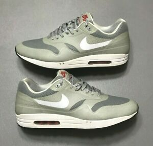 Details about 2012 Nike Air Max 1 Hyperfuse Metallic Silver 3M Reflective Size 13 (543213 016)
